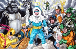 Flash Rogues Gallery by montrosity