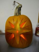 Star of Feanor Pumpkin - Unlit by zeroatthebone