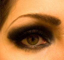 'Bad Romance' Eye by soffl