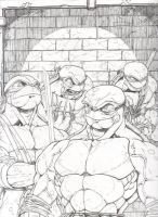 Teenage Mutant Ninja Turtles 1 by GenericComics