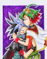 Yu-Gi-Oh Arc V - Counterpartshipping by SpazztasticFanGirl