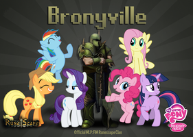 Bronyville Runescape Banner by H2oOctane