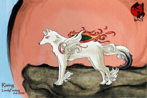 Rising Okami by lovelyfantasy