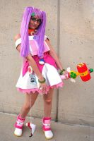 Magical Girl Mii Cosplay by HezaChan