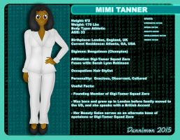 Mimi Tanner Character Profile by DannimonDesigns