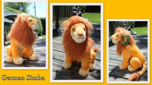 Adult Simba Germany by Laurel-Lion