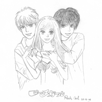 Peach girl by Lil-sw3etazn