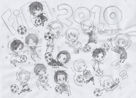 Hetalia - 2010 FIFA Tournament by IchigoDESU