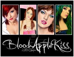 BloodAppleKiss 2010 Calendar by BloodAppleKiss