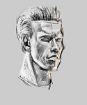 sketchy t-800 by buzzelliArt