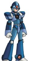 Mega Man X Custom Colored by Tricheus