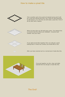 How to make a pixel tile by vanmall