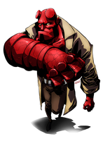 HellBoyish by Dreviator