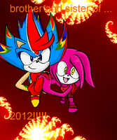 brother and sister of 2012 by ashfox97