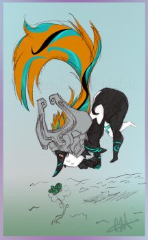 Curious Midna by antoinette721