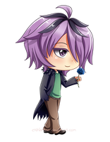 Commission: Chibi Garry by cNhiansae
