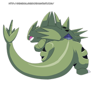 My Favorite Rock Type 2014- Tyranitar by GeneralGibby