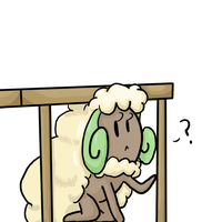 Whimsicott being a goof by sweetinsanity364