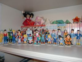 Dragonball GT pv figures by Lady-Shaina