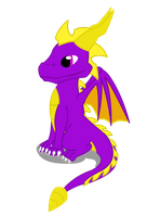 Spyro Vector by Shadowpredator100