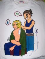 Sawyer and kate Tshirt by Lillymonkey