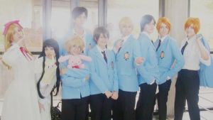 Ouran Host Club Group by biia-14