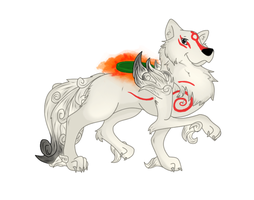 Okami Contest entry 1 by Xiao97