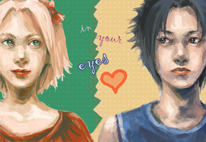 SasuSaku: in your eyes by elalendi