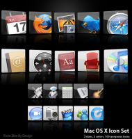 Mac OS X Icon Set v.1 by EliteByDesign