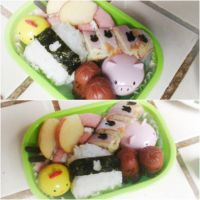 Kawaii Bento Box Lunch by Piplup501