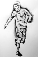 figure drawing - david villa by kying1130
