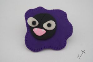 Gastly by The-Erin-show
