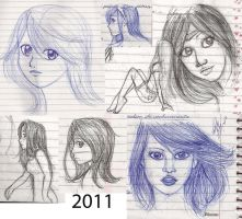 Drawing in the Class 06 by NatBelus