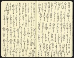 One hundred thirty five variations by MattiasA