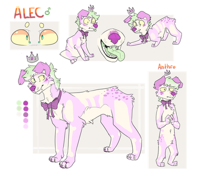 Alec - Ref Sheet - Commission by WeHaveCandy