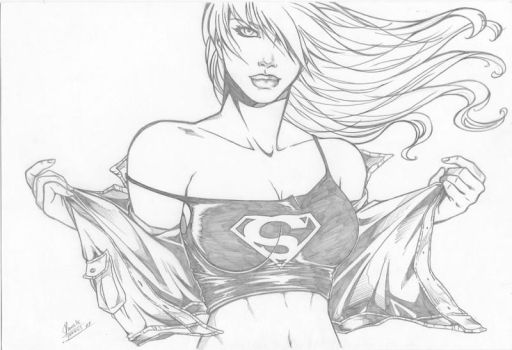 super girl by Dannith
