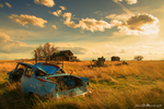 Old Fords And Farms by kkart