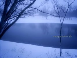 Frozen Pond by wayspacedout