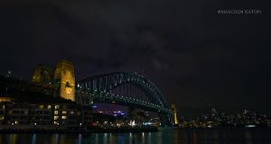 The Bridge at Night by FireflyPhotosAust
