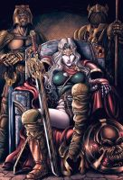Lady Death Colorfull by wagnermm19