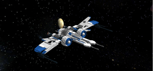 ARC-170/Mandalorian Starfighter Ugly V1 by mafia279