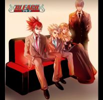 Bleach Group by Athena-chan