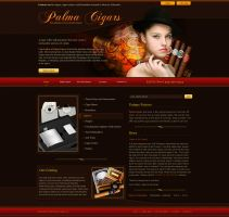 palma cigars site by ijographicz