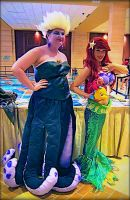 ariel and Ursula cosplay by mayumi-loves-sora