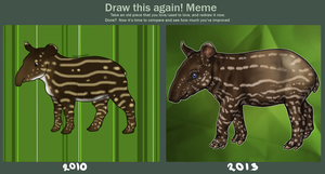 Draw This Again: Tapir by horsy1050