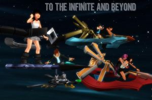 :: TO THE INFINITE AND BEYOND :: by tifany1988