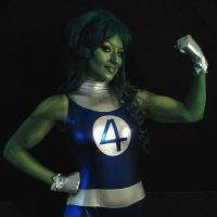 SHE HULK COSPLAY NYCC 2012 echo endless by ECHOENDLESS
