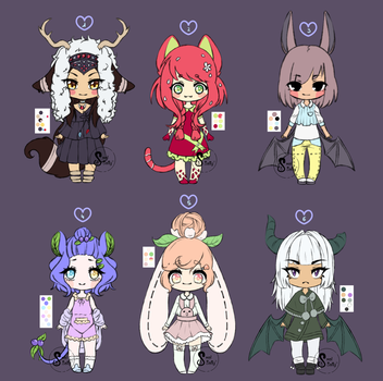 Cute Adopts (2/6 OPEN) by SmolSalty