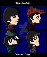 The Beatles-Demon Days by yeidsil