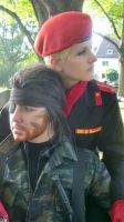 again Big Boss and Ocelot by S-lime